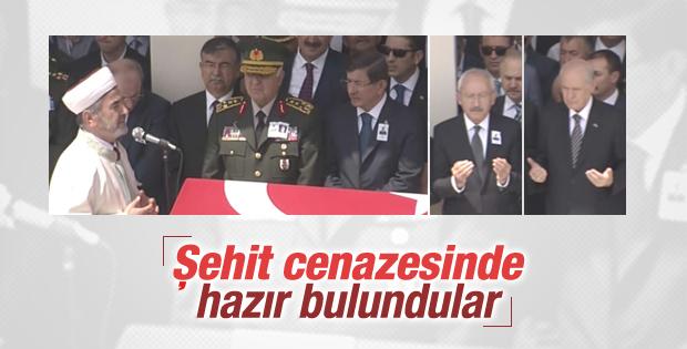 Şehit Nurettin Öztürk'e veda töreni