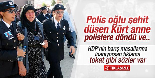 Şehit polise Mardin'de Kürtçe ağıt