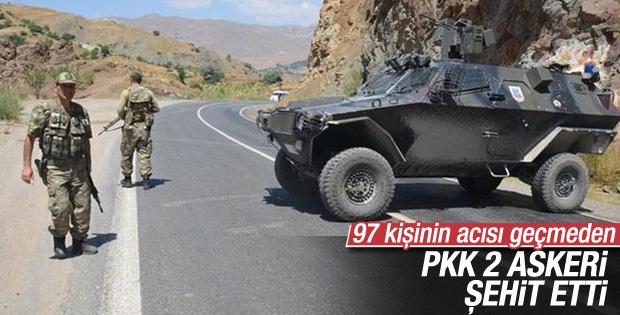 Erzurum'da çatışma: 2 şehit