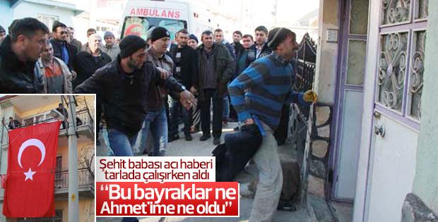 Afyonkarahisar'a Uzman Çavuş Ahmet Şahin'in ateşi düştü