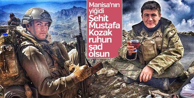 Şırnak şehidi Mustafa Kozak'tan geriye kalan fotoğraflar