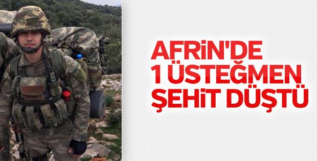Üsteğmen Oğuz Kaan Usta Afrin'de şehit oldu