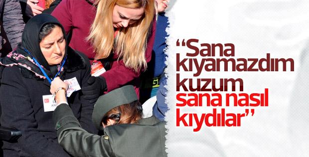 Şehit Ali Ocak ve Ahmet Taş'a veda