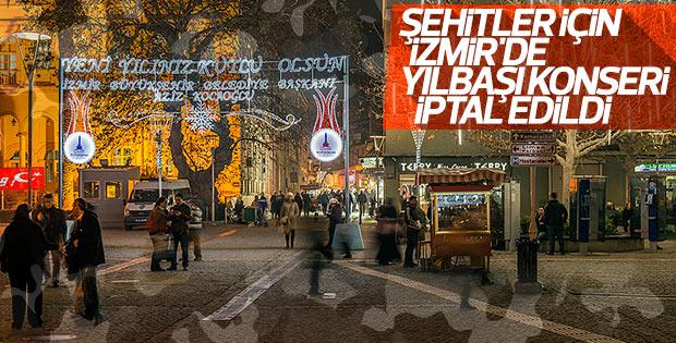 İzmir Büyükşehir Belediyesi yılbaşı konserini iptal etti