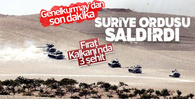 Türk askerlerini Esad'ın uçakları şehit etti
