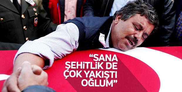 Şehit Mehmet Sakallı'ya veda