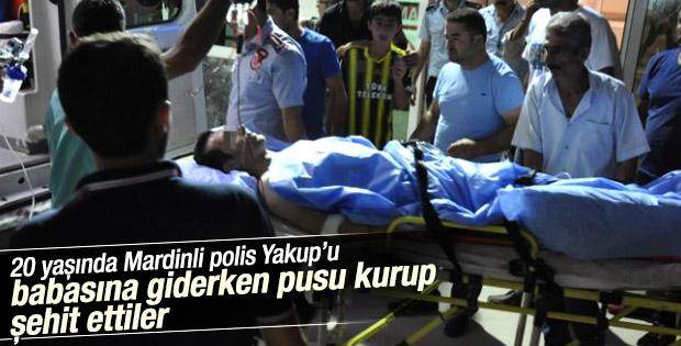 Mardin'de polise silahlı saldırı: 1 şehit
