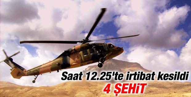 Kaybolan askeri helikopter bulundu