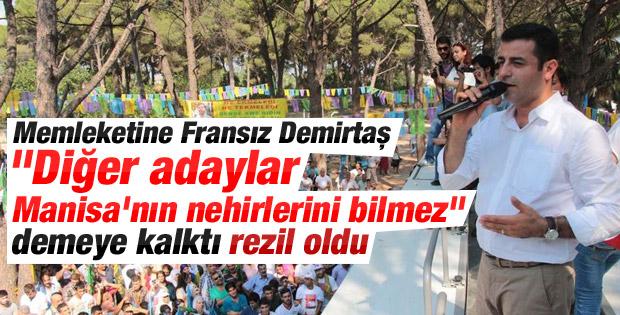 Selahattin Demirtaş'tan Büyük Menderes gafı