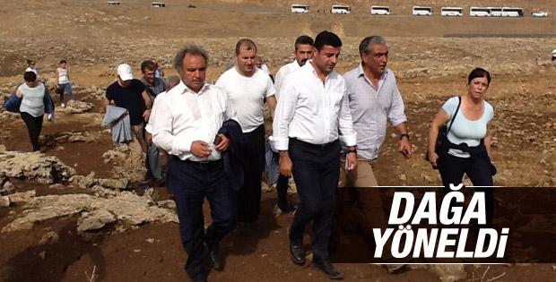 HDP heyetinin İdil'den geçişine izin verilmedi
