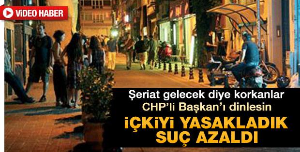 CHP'li Öztürk Kadıköy'de içki yasağını savundu - izle