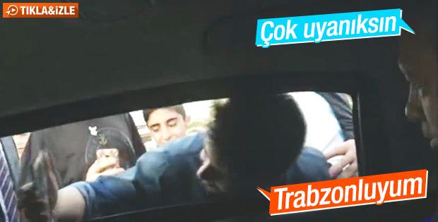 Çocukların Erdoğan'la selfie yarışı