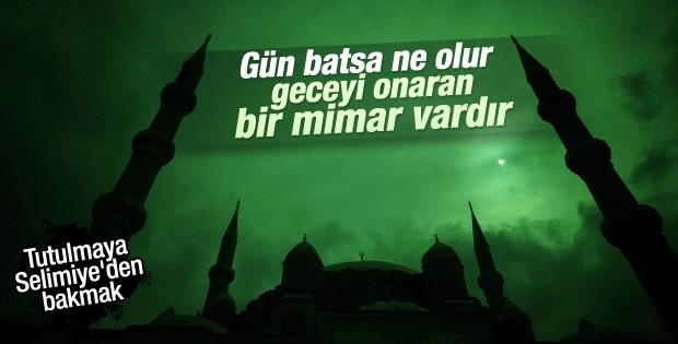 Selimiye'de Güneş tutulması..