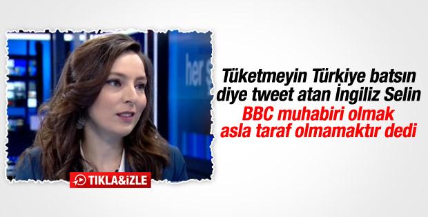Selin Girit BBC muhabirliğini değerlendirdi