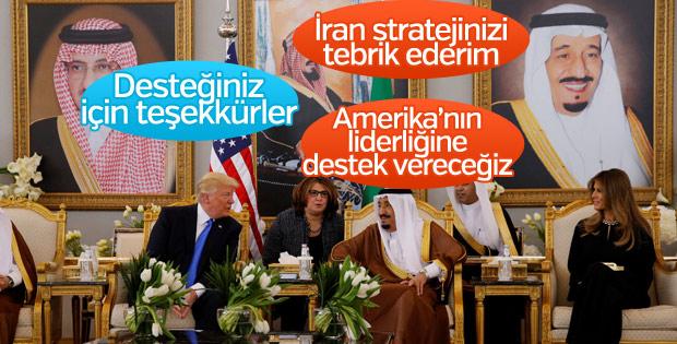 Trump, Kral Selman ile İran'ı görüştü