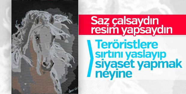 HDP'li Selahattin Demirtaş cezaevinde resim yaptı