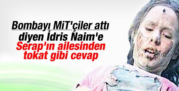 İdris Naim Şahin'e Serap Eser tepkisi