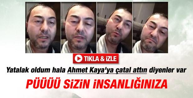 Serdar Ortaç: Ahmet Kaya'ya çatal attıysam elim kırılsın