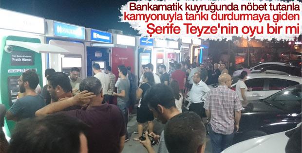15 Temmuz gecesi ATM'leri boşalttılar