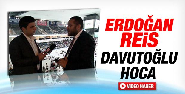 Serkan Kalemciler: Erdoğan Reis Davutoğlu Hoca