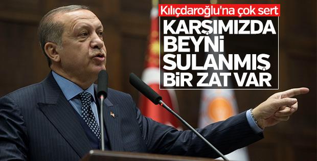 Erdoğan'dan Kılıçdaroğlu'na: Beyni sulanmış zat