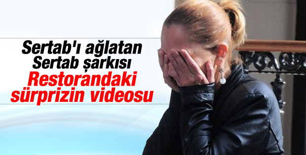 Sertab Erener'i ağlattılar