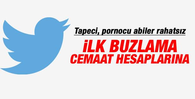 Ses kaydı yayınlayan iki Twitter hesabı buzlandı