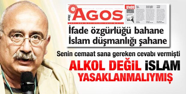 Sevan Nişanyan: Alkol değil İslam yasaklansın