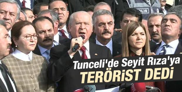 Devlet Bahçeli: İsyana karışanlar devrin teröristleridir İZLE