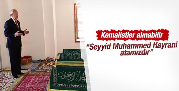 Kemal Kılıçdaroğlu'nun Konya'da türbe ziyareti