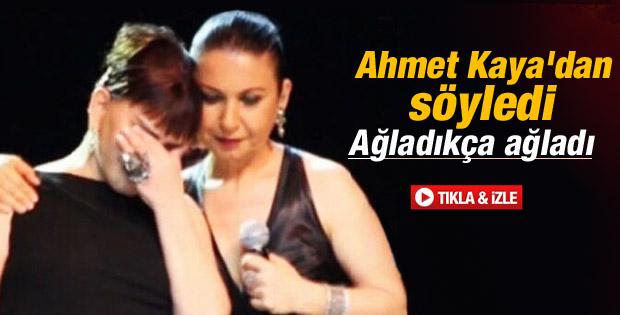 Sezen Aksu Ahmet Kaya şarkısı söylerken ağladı