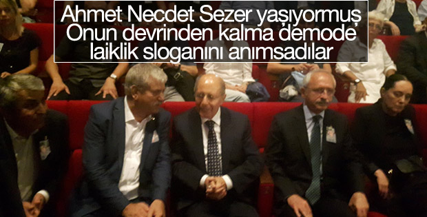 Tarık Akan için törene Sezer ve Kılıçdaroğlu da katıldı