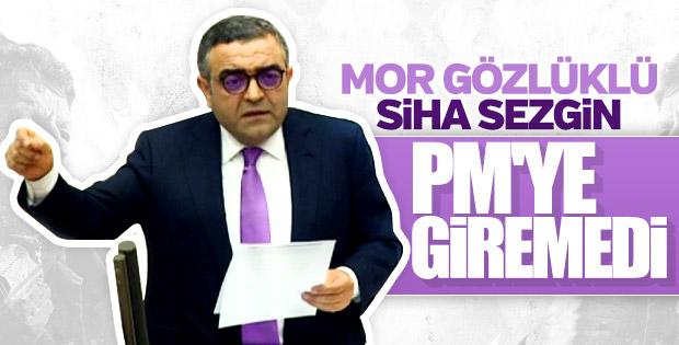 CHP'li Sezgin Tanrıkulu PM'ye giremedi