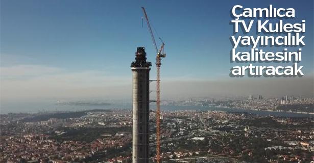 Çamlıca TV Kulesi çalışmaları devam ediyor