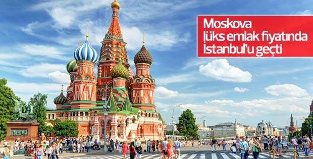 Moskova, lüks emlak fiyatında İstanbul'u geçti
