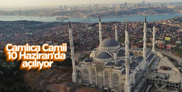 Çamlıca Camii 58 gün sonra ibadete açılıyor