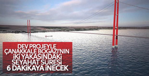 1915 Çanakkale Köprüsü ile seyahat süresi kısalıyor