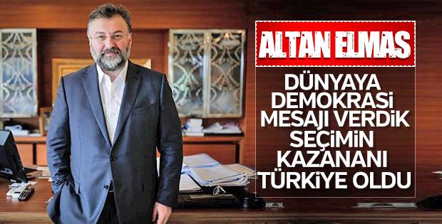 Altan Elmas: Ekonomimizin sağlamlığını görüyoruz