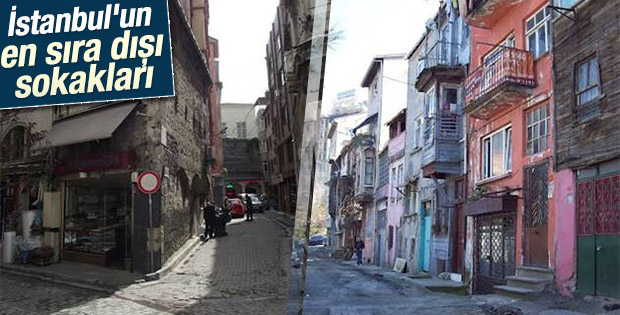 İstanbul'un en sıra dışı sokakları