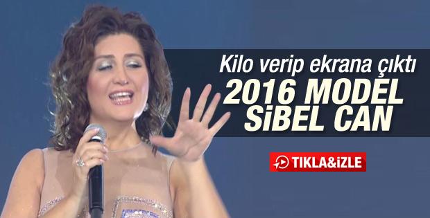 Sibel Can'ın yılbaşı özel performansı