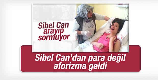 Sibel Can'dan iyilik mesajı