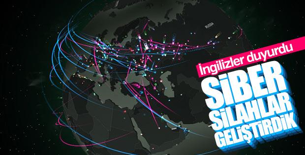 İngiltere: Siber silahlar geliştirdik