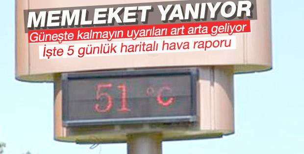 Sıcaklıklar arttı uzmanlar uyardı: Dışarı çıkmayın