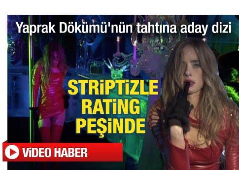 Şüphe dizisi striptizle merhaba dedi