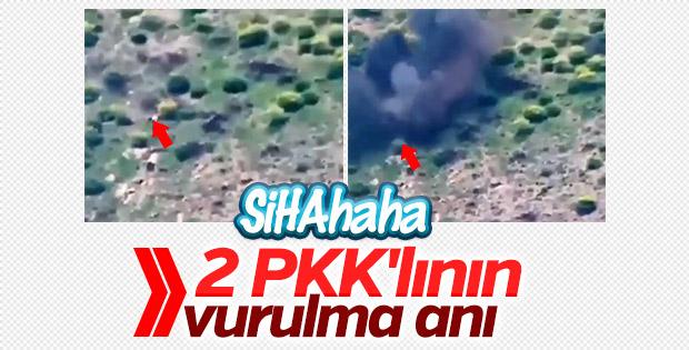 SİHA vurdu: 2 PKK'lı öldürüldü