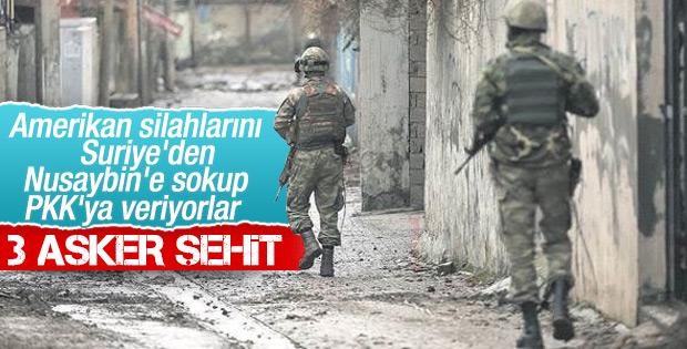 Mardin Nusaybin'de 3 asker şehit oldu