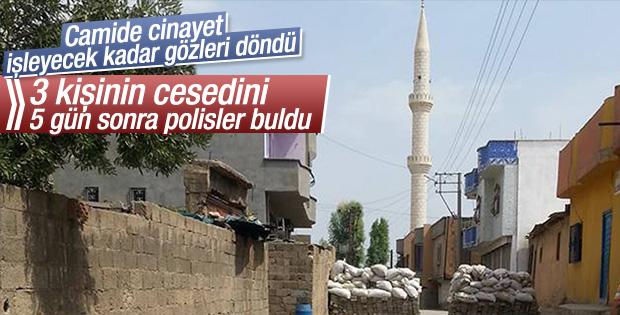 Şırnak'ta camide 3 ceset bulundu