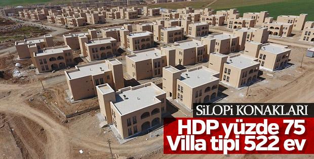 Silopi'de terör mağdurlarına villa tipi konut yapılıyor