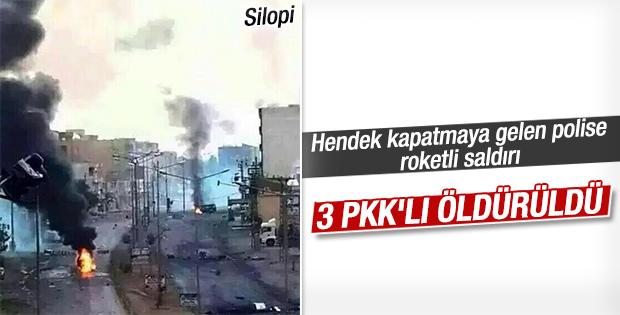 Silopi'de PKK'lılar polisle çatıştı: 3 ölü