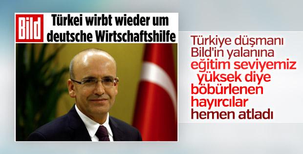 Mehmet Şimşek Alman Bild'i yalanladı